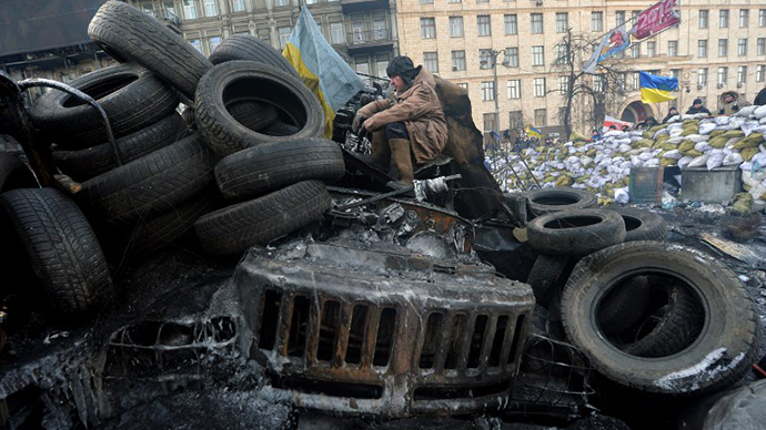 January 27, 2014. (AFP Photo / Sergei Supinsky)