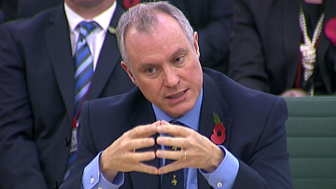 Iain Lobban the director of GCHQ (Reuters/UK Parliament via REUTERS TV)
