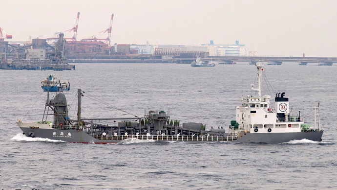The Nichinan ship (Photo from www.marinetraffic.com)