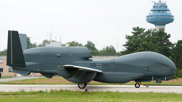 The unmanned Euro Hawk plane (AFP/DPA)