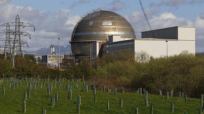 A view of the Sellafield nuclear reprocessing site near Seascale in Cumbria, England (Reuters / David Moir)