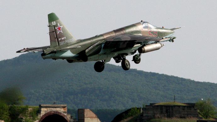Su-25 CM attack jet (RIA Novosti/Vitaliy Ankov)