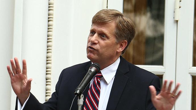 U.S. Ambassador to Russia Michael McFaul (RIA Novosti/Valeriy Levitin)