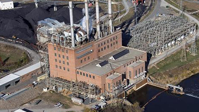 Duke Energy's Dan River Steam Station (Image from duke-energy.com)