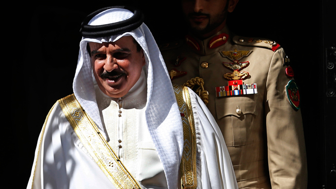 Bahrain's King Hamad bin Isa Al Khalifa (Reuters / Suzanne Plunkett)