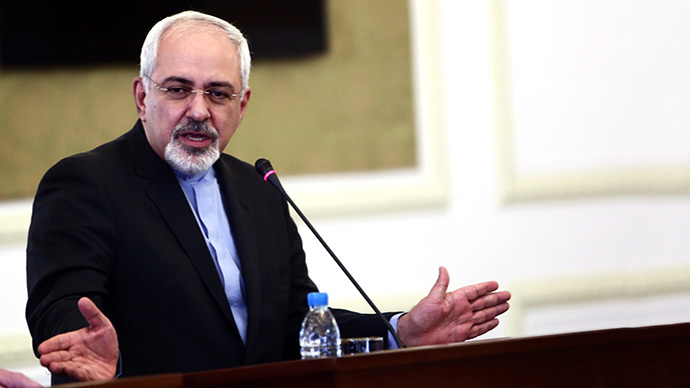 Iranian Foreign Minister Mohammad Javad Zarif (AFP Photo / Behrouz Mehri)