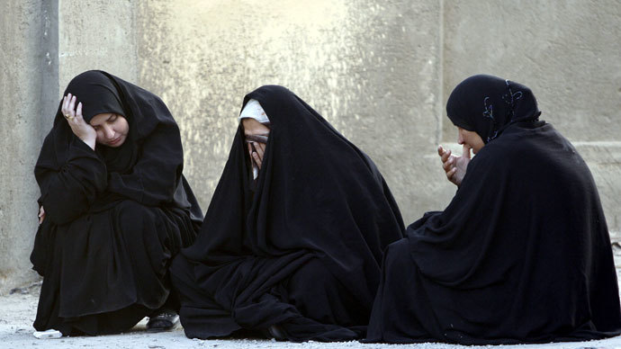 Iraq Women.(Reuters / Kareem Raheem)