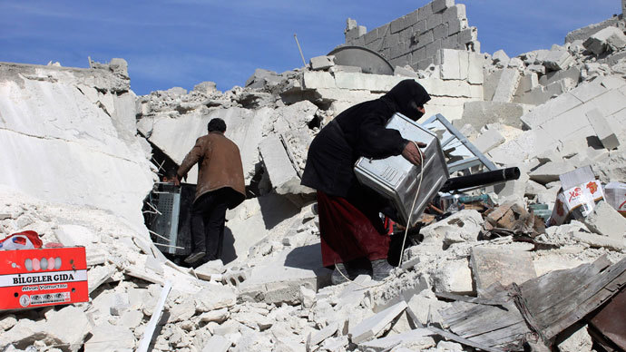 Aleppo.(Reuters / Hosam Katan)