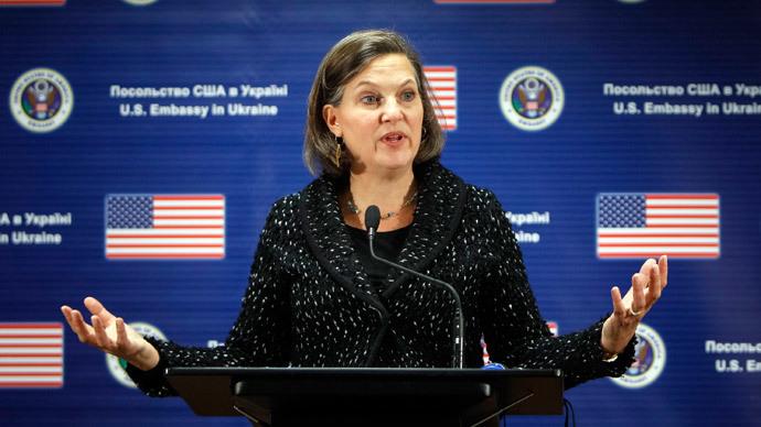 U.S. Assistant Secretary of State Victoria Nuland (Reuters / Gleb Garanich)