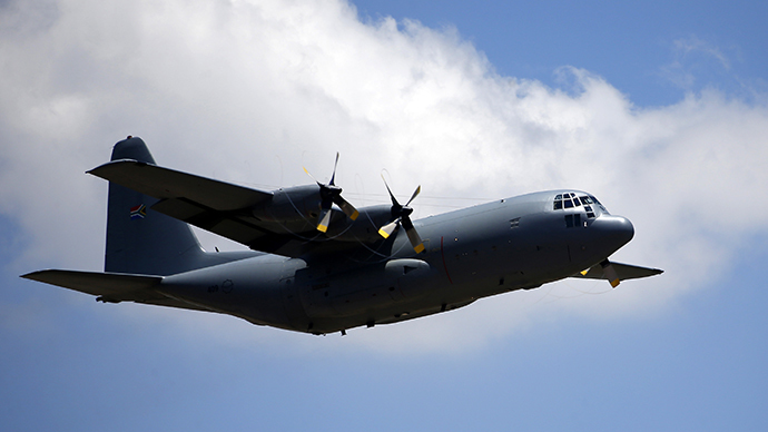 (FILE) An Hercules C-130 (Reuters / Yves Herman)