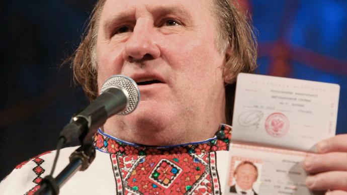 Gerard Depardieu (RIA Novosti / Julia Chestnova)