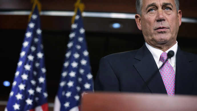 U.S. Speaker of the House Rep. John Boehner  (Alex Wong / Getty Images / AFP)
