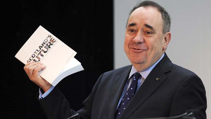 Scotland's First Minister Alex Salmond (AFP Photo / Andy Buchanan)