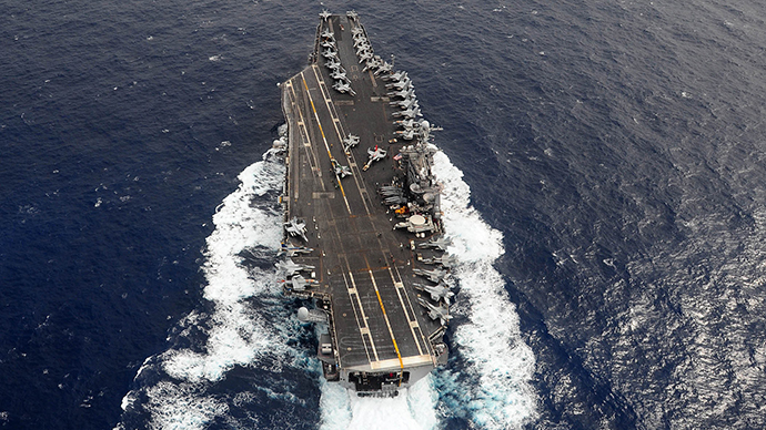 The U.S. Navy's USS George Washington aircraft carrier (Reuters)