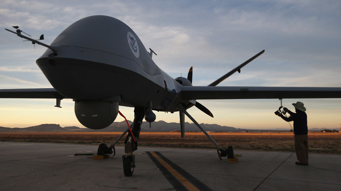 Predator drone.(AFP Photo / John Moore)