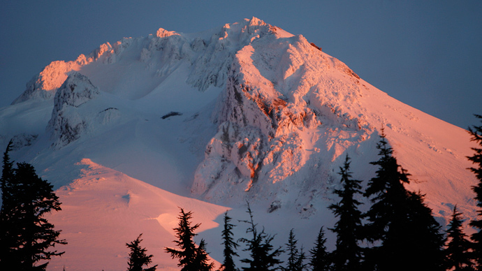 Mount Hood in Oregon (Reuters / Steve Dipaola)