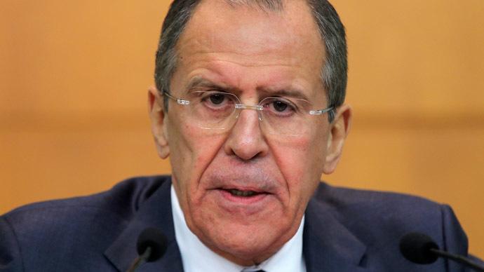 Russian Foreign Minister Sergei Lavrov (RIA Novosti/Vitaliy Belousov)