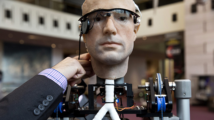 Will this robot someday know your every thought? (Reuters / Joshua Roberts)