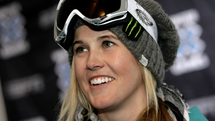 Sarah Burke (Doug Pensinger / Getty Images / AFP)