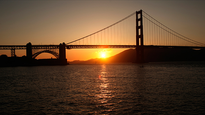 The Golden Gate Bridge  in San Francisco, California (Reuters / Robert Galbraith)