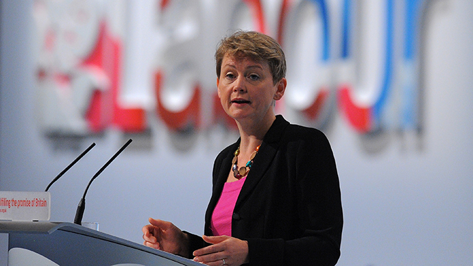 Britain's Opposition Labour Party's Shadow Home Secretary , Yvette Cooper (AFP Photo / Andrew Yates)