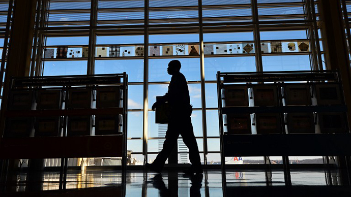 The Ronald Reagan National Airport in Washington, DC (AFP Photo / Jewel Samad)