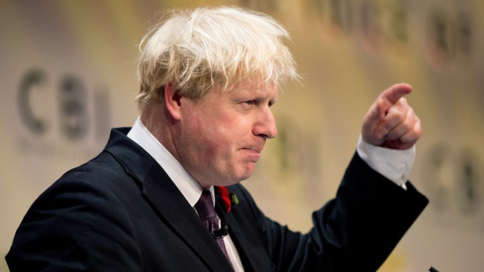 London Mayor, Boris Johnson (AFP Photo / Leon Neal)