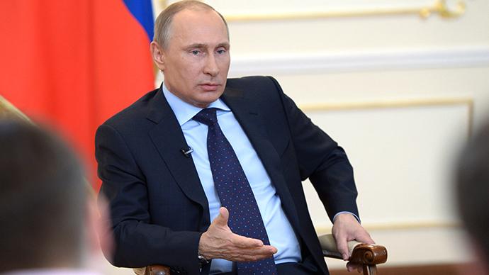 Russian President Vladimir Putin (RIA Novosti / Alexey Nokolskiy)