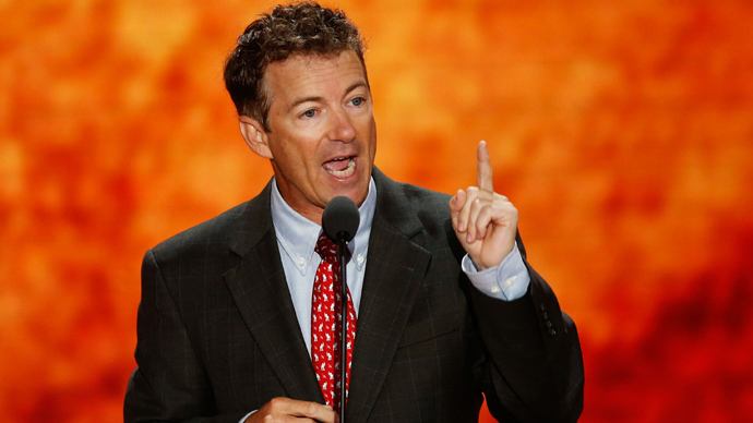 U.S. Senator Rand Paul (R-KY) (Reuters / Mike Segar)