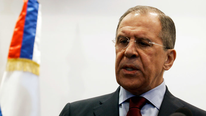 Russian Foreign Minister Sergei Lavrov.(Reuters / Zoubeir Souissi)
