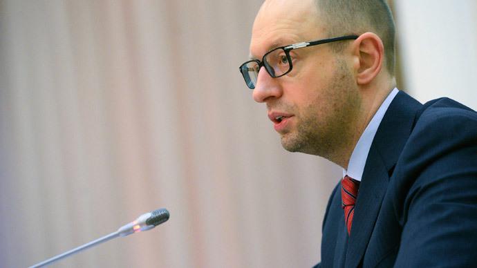 Arseny Yatsenyuk.(Reuters / Andrew Kravchenko)