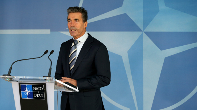 NATO Secretary-General Anders Fogh Rasmussen (Reuters / Yves Herman)