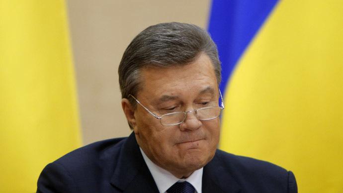 Ousted Ukrainian President Viktor Yanukovich (Reuters/Maxim Shemetov)