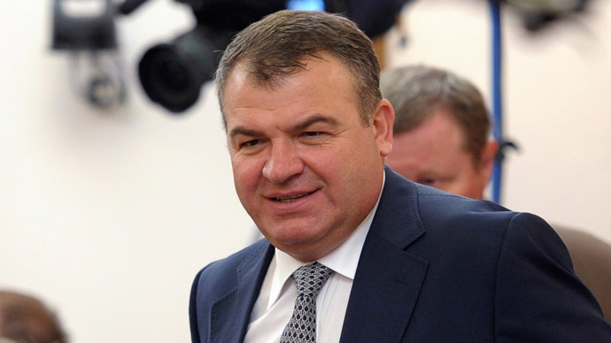 Former defense minister Anatoly Serdyukov (RIA Novosti/Alexei Druzhinin)