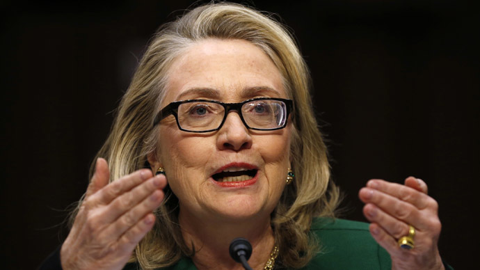 Former U.S. Secretary of State Hillary Clinton (Reuters/Kevin Lamarque)