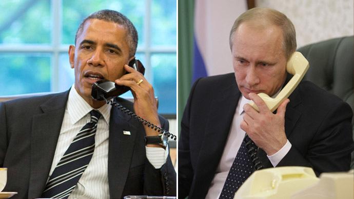 U.S. President Barack Obama and Russian President Vladimir Putin (Reuters/RIA Novosti)