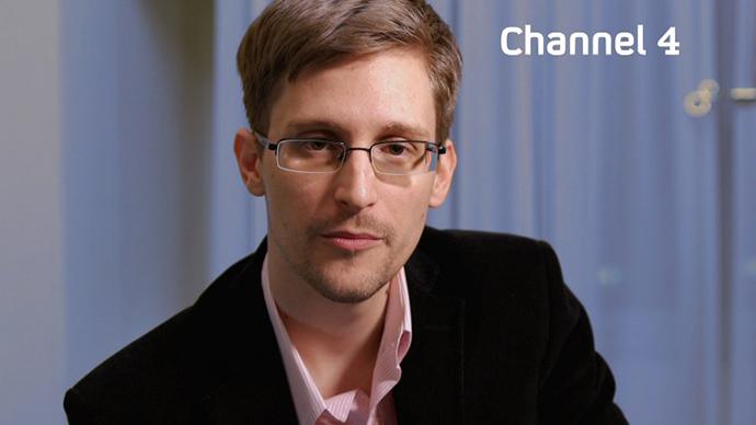 Edward Snowden (AFP Photo / Channel 4)