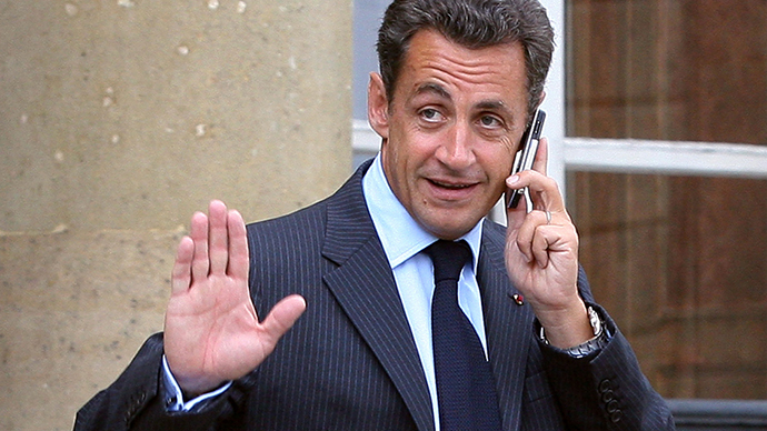 Nicholas Sarkozy (AFP Photo / Thomas Coex)