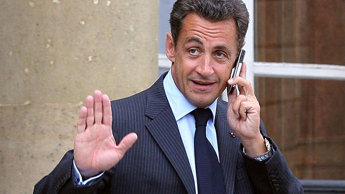 Nicholas Sarkozy (AFP Photo / Thomas Coex)