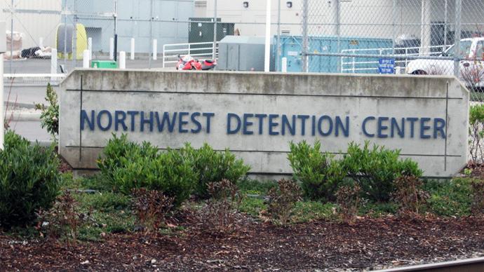 Northwest Detention Center, Tacoma (Image from olyblog.net)