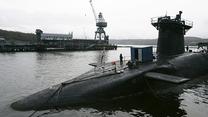 HMS Vanguard (Reuters / David Moir)