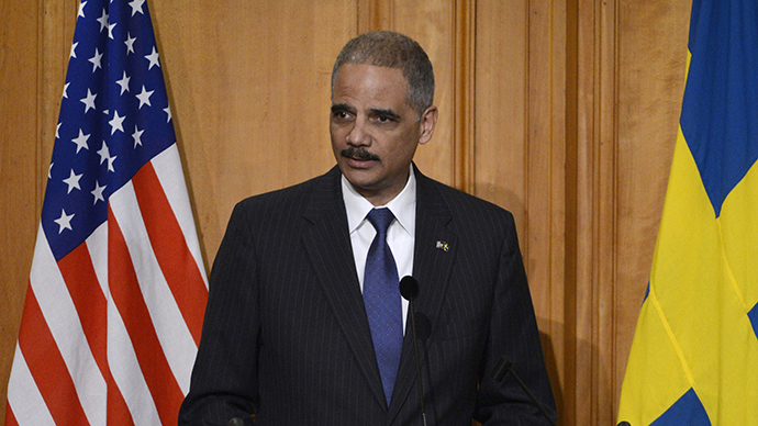 The U.S. Attorney-General Eric Holder (Reuters / Bertil Enevag Ericson)