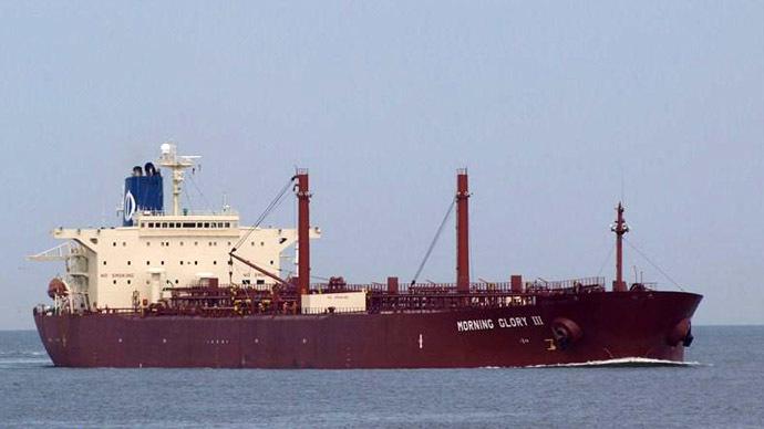 The oil tanker Morning Glory (www.marinetraffic.com)