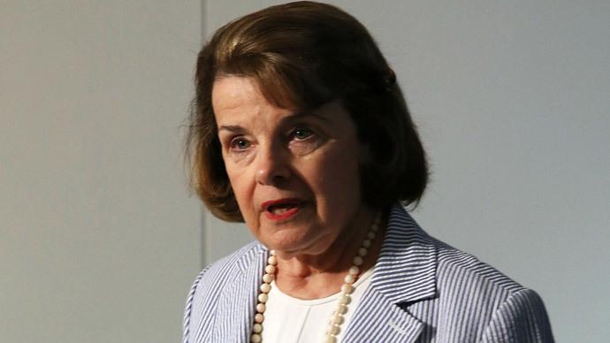 Sen. Dianne Feinstein of California (Mark Wilson / Getty Images / AFP)