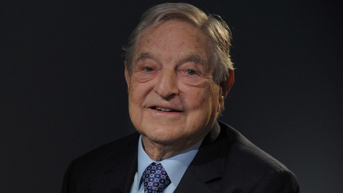 George Soros (AFP Photo / Eric Piermont)