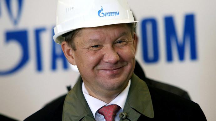 Alexey Miller (RIA Novosti / Igor Zarembo)