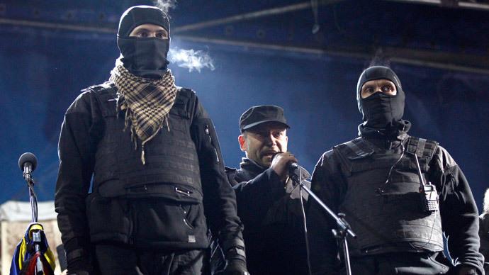 Dmytro Yarosh.(Reuters / David Mdzinarishvili)