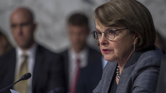 US Senator Diane Feinstein (D-CA) (AFP Photo / Paul J. Richards )