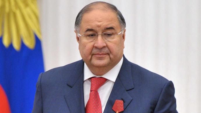 Alisher Usmanov (RIA Novosti / Aleksey Nikolskyi)