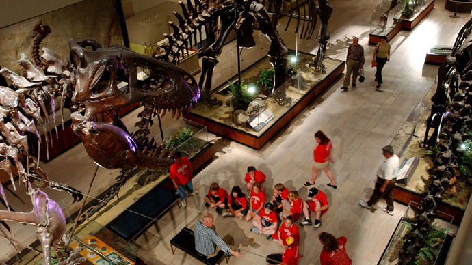 Carnegie Museum of Natural History.(AFP Photo / Jeff Swensen)
